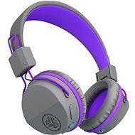 JLAB JBuddies Studio Kids Wireless Grey/Purple - Bezdrôtové slúchadlá