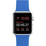 Apple Watch Šport 42mm Strieborný hliník s kráľovsky modrým remienkom - Smart hodinky
