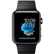 Apple Watch Series 2 38 mm Vesmírne čierna nerezová oceľ s vesmírne čiernym článkovým remienkom - Smart hodinky