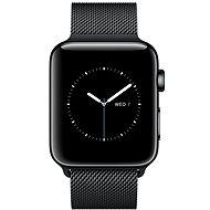 Apple Watch Series 2 42 mm Vesmírnečierna nehrdzavejúca oceľ s vesmírnečiernym milánskym remienkom - Smart hodinky