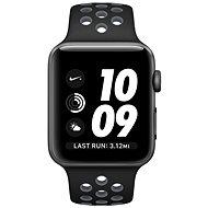 Apple Watch Series 2 Nike+ 38 mm Vesmírne sivý hliník s čiernym/chladne sivým športovým remienkom Nike - Smart hodinky