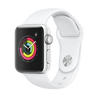 Apple Watch Series 3 38mm GPS Silver aluminum with white sports strap - Smartwatch