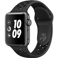 Apple Watch Series 3 Nike+ 38 mm GPS Vesmírne sivý hliník s antracitovým športovým remienkom Nike