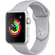 Apple Watch Series 3 42mm GPS Strieborný hliník s hmlovo sivým športovým remienkom