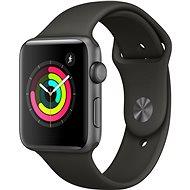 Apple Watch Series 3 42mm GPS Vesmírne sivý hliník so sivým športovým remienkom