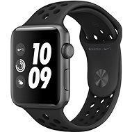 Apple Watch Series 3 Nike+ 42mm GPS Vesmírne sivý hliník s antracitovým sportovním řemínkem Nike - Smart hodinky