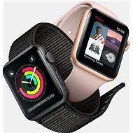 Apple Watch Series 3 Nike+ 42 mm GPS Vesmírne sivý hliník s antracitovým športovým remienkom Nike - Smart hodinky