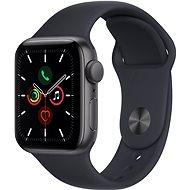 Apple Watch SE 40 mm Vesmírne sivý hliník s tmavo atramentovým športovým remienkom