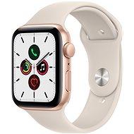 Apple Watch SE 44mm Gold Aluminium Case with Starlight Sport Band