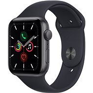 Apple Watch SE 44mm Space Grey Aluminium Case with Midnight Sport Band