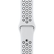Apple Sport Nike 38 mm Platinový/čierny - Remienok