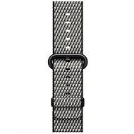 Apple 38 mm Čierny z tkaného nylonu (prešívanie) - Remienok