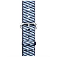 Apple 38 mm Polnočne modrý z tkaného nylonu (prešívanie) - Remienok