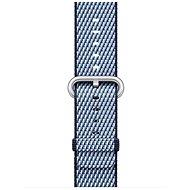 Apple 38mm Midnight modrý tkaný nylon (šitie)