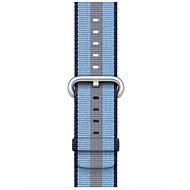 Apple 38 mm Polnočne modrý z tkaného nylonu (prúžky) - Remienok