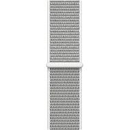 Apple 38 mm Mušľovo biely prevliekací športový - Remienok
