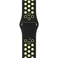 Apple Sport Nike 42 mm Čierny/Volt - Remienok