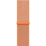 Apple 42 mm paprikovo oranžový prevliekací športový - Remienok