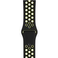Apple Sport Nike 44 mm Čierny/Volt - Remienok