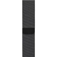Apple 44mm Vesmírne čierny Milánsky ťah - Remienok