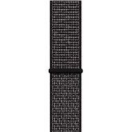 Apple Watch 44 mm Čierny Nike športový remienok - Remienok