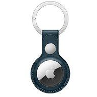 Apple AirTag kožená kľúčenka baltská modrá - Kľúčenka