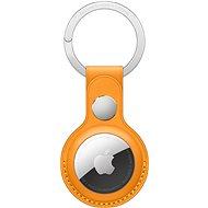 AirTag kľúčenka Apple AirTag kožená kľúčenka – nechtíkovo oranžová
