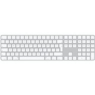 Apple Magic Keyboard s Touch ID a Numerickou klávesnicou – CZ - Klávesnica