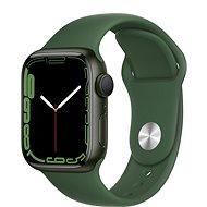 Apple Watch Series 7 41mm Green Aluminium Case with Clover Sport Band