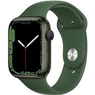 Apple Watch Series 7 45mm Green Aluminium Case with Clover Sport Band - Smartwatch