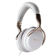 DENON AH-GC25NC White - Slúchadlá s mikrofónom