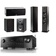 DENON AVR-S650H Black + reprosústava Polk Audio T15 + T30 + T50 - Set