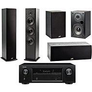 DENON AVR-X540BT + reprosústava Polk Audio T50 + T30 + T15 - AV receiver