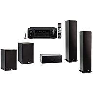 DENON AVR-X1400H + 5.0 reprosústava Polk Audio T50 + T30 + T15 - Set