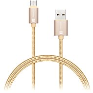 CONNECT IT Wirez Premium USB-C 1m gold - Dátový kábel