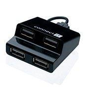 USB hub CONNECT IT CI-108 Step čierny