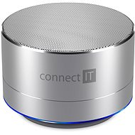 CONNECT IT Boom Box BS500S Silver - Bluetooth reproduktor