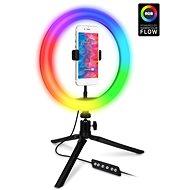 CONNECT IT Selfie10RGB RGB LED svetlo - Selfie tyč