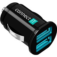 CONNECT IT  InCar Charger Mini červená - Nabíjačka do auta