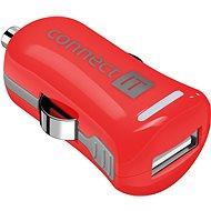 CONNECT IT InCarz Charger ONE 2.1A červená (V2) - Nabíjačka do auta