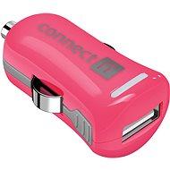 CONNECT IT InCarz Charger ONE 2.1A ružová (V2) - Nabíjačka do auta