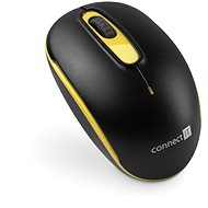 CONNECT IT CMO-1000-YL Žltá - Myš