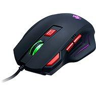 CONNECT IT Biohazard Mouse čierna