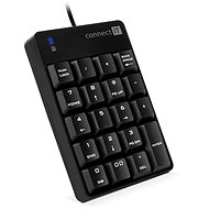 CONNECT IT NumCALC CKB-0060-BK, čierna - Numerická klávesnica
