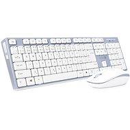 CONNECT IT CKM-7510-CS CZ/SK White - Súprava klávesnice a myši
