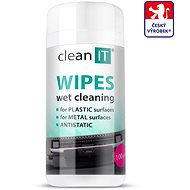 CLEAN IT čistiace obrúsky mokré na LCD/TFT 100 ks - Čistiaci prostriedok