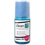 CLEAN IT čistiaci roztok pre obrazovky s utierkou vo viečku - Čistiaci prostriedok