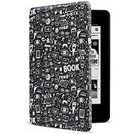 CONNECT IT CEB-1043-BK na Amazon NEW Kindle Paperwhite 2018, Doodle black - Puzdro na čítačku kníh