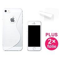 CONNECT IT S-Cover iPhone 5 číre - Ochranný kryt