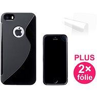 CONNECT IT S-Cover iPhone 5 čierne - Ochranný kryt